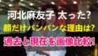 【画像比較】河北麻友子の顔が太ってパンパン?いつから太った?太った理由も調査!